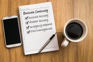 etablir un plan de reprise d'activité