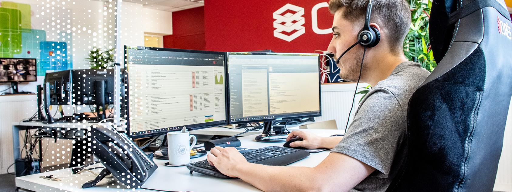 Equipe support et services de proximité - Datacenter Cyrès