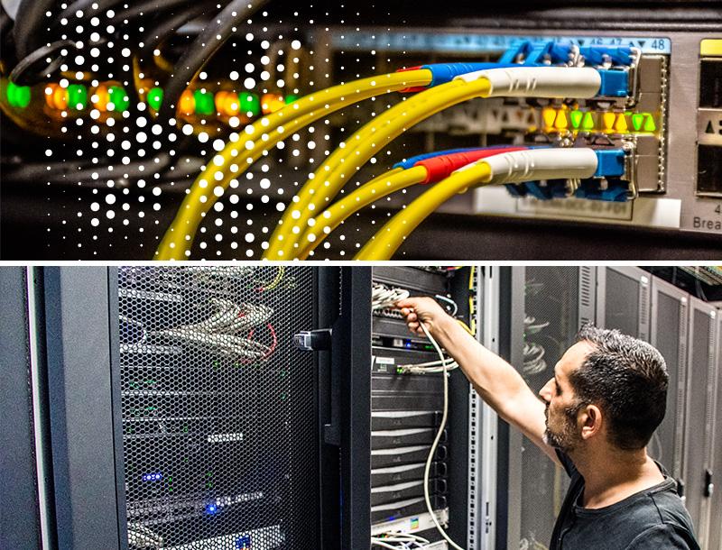 Fibre optique pour entreprise datacenter Cyrès