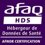 Certification HDS hébergement Données de Santé ANFOR